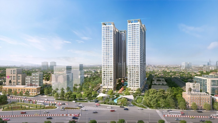 Apartment near the industrial park leading real estate Binh Duong