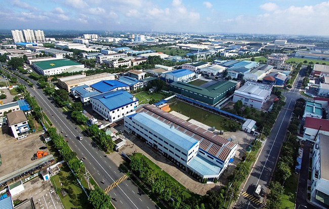 Industrial real estate leasing distribution company in Ho Chi Minh City